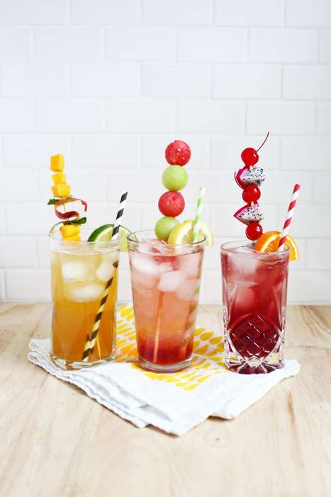 Fizzy Tea Beverages