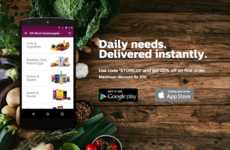 Indian Grocery Delivery Services - This Mobile Application Allows You to Order Groceries On-Demand