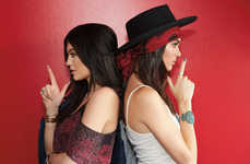 Rebellious Southwestern Fashion - Kendall & Kylie Jenner's Las Rebeldes Collection is Bad Girl Chic