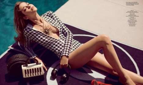 Elegant Poolside Editorials