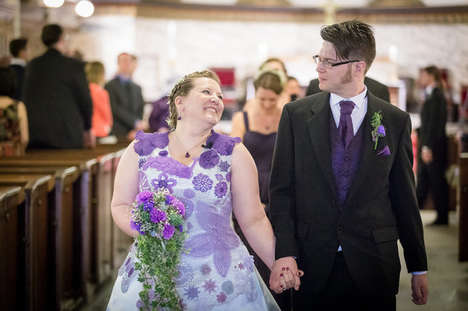 Crocheted Wedding Dresses