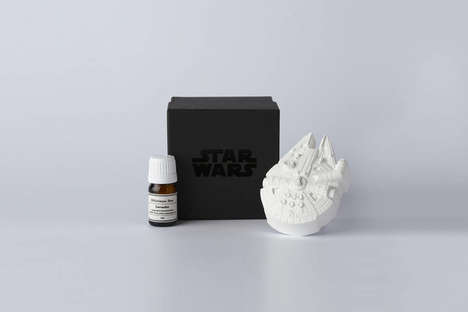 Cosmic Fragrance Diffusers - These Scent Diffusers are Inspired by the Iconic Star Wars Series