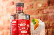 Manchester-Branded Gins - This English Spirit is Named After the Ancient Gin Pioneer Thomas Dakin