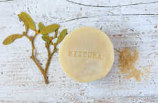 Mustard Solid Shampoos - Mixtura Organic's Organic Hair Cleanser Boasts Essential Oil Ingredients