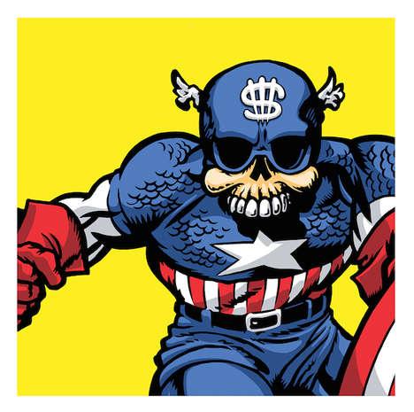 Scary Skeletal Superheroes