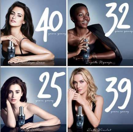 Age-Defying Ad Campaigns