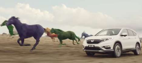 Dream-Encouraging Auto Ads - This Honda CR-V Commercial Encourages One to Make Dreams a Reality