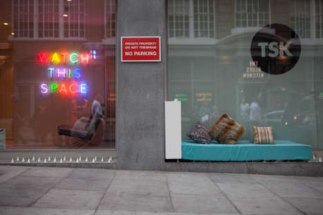 Pop-Up Homeless Shelters - These Activists Created a Cozy Bedroom Set for the Homeless