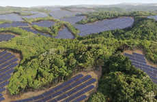 Golf Course Solar Farms - Kyocera is Converting Unused Greens to Construct a Solar Energy Farm