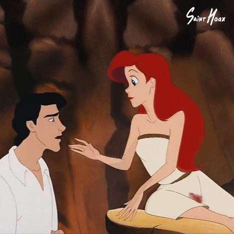 Menstruating Disney Princesses