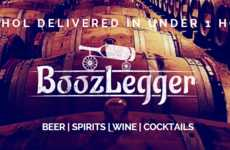 Local Booze-Delivering Apps - Boozlegger is New App for Liquor Delivery in Toronto