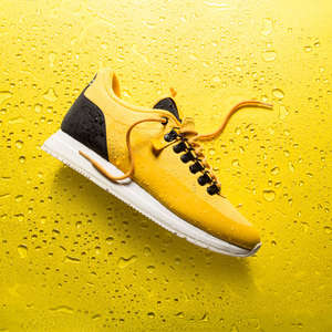 Tape-Made Shoes - The Orion Footwear Shoe's Upper is Made of Waterproof Scotchgard Tape