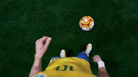 First-Person Soccer Videos