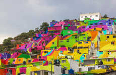Vibrant City-Wide Murals