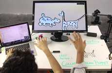 Digital Puppetry Software - This Animation Software Allows Users to Control Designs with Their Hands