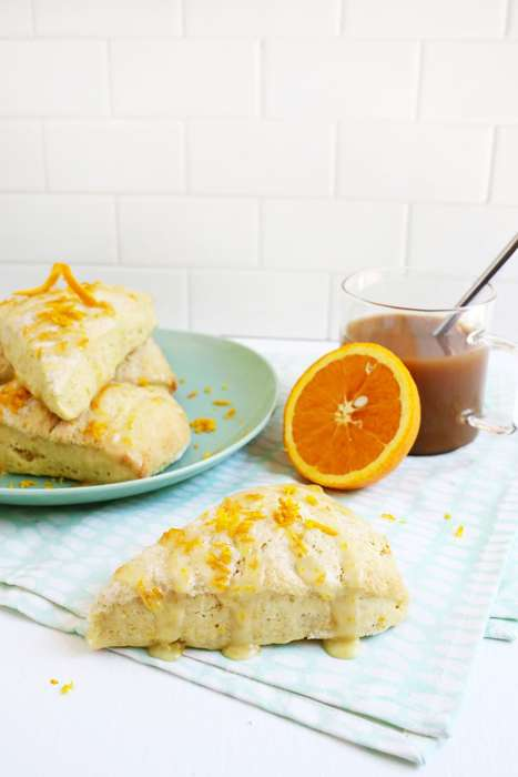 Orange Peel Scones