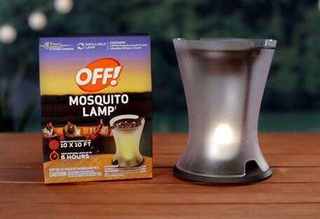 The Latest OFF! Mosquito Repellent Aid is a Six Hour Candle & Diffuser