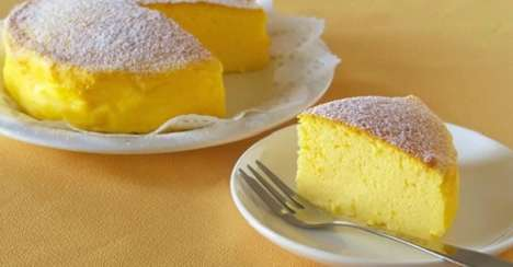 Japanese Souffle Cheesecakes