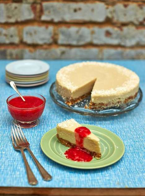 Dairy-Free Coconut Cheesecakes