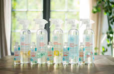 Diluted Herbal Cleaners - The Honest Company's Healthy Cleaning Products Can Be Topped Up with Water