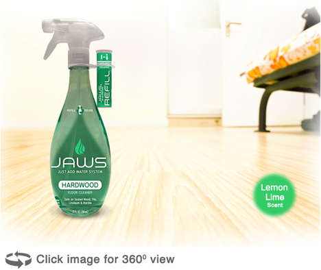 Concentrated Cleaning Pods - JAWS' Household Cleaning Product Comes with Attached Concentrate Pods