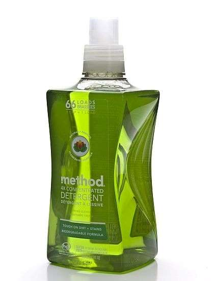 Multipurpose Laundry Detergents - Method's 4X Concentrated Detergent Doubles as a Soak for Stains