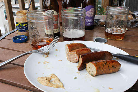 Beer-Inspired Sausages