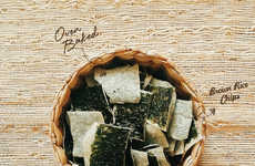 Rice-Backed Seaweed Snacks - Annie Chun's Seaweed Crisps Get Extra Crunch from a Brown Rice Backing