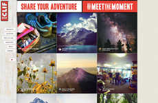 Meaningful Adventure Campaigns - CLIF's #MeetTheMoment Engaged Outdoor Enthusiasts on Social Media