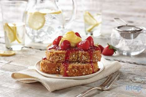 Hybrid Toast Breakfasts - This IHOP Dish Combines Cereal, Oatmeal and Toast for Breakfast