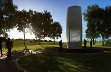 Air-Purifying Towers - The Smog Free Tower Purifies Air and Releases It Back Into the Environment