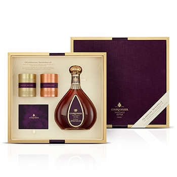 Sensory Cognac Kits - This Courvoisier Cognac Gift Delights with a Combination of Scent and Taste