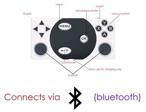 Portable Gaming Controllers
