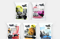 Youthful Crisps Packaging