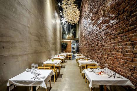 Chic Alleyway Restaurants