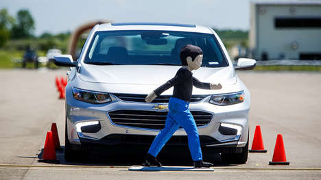 Pedestrian-Avoiding Cars - The 2016 Malibu Chevy Features Real-Time Cameras to Protect Pedestrians