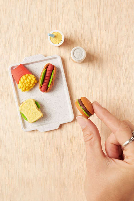 Fast Food Eraser Sets