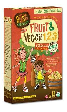 Vegetable-Infused Cereals