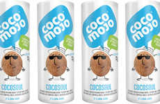Herbal Coconut Waters - This Refreshing Coconut Drink is Infused with Botanical Herbs and Spices