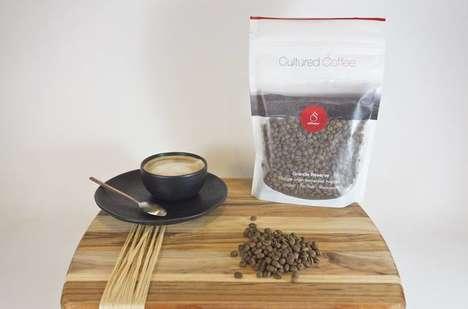 Fermented Coffee Beans