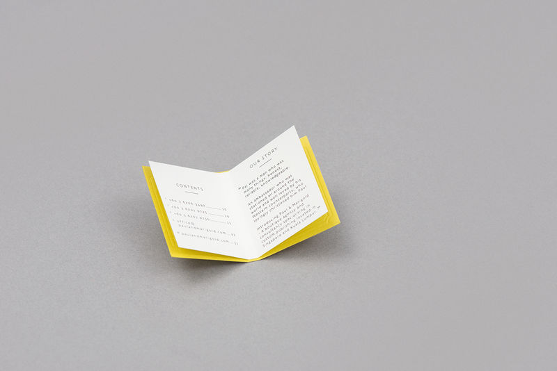 Book-Shaped Business Cards