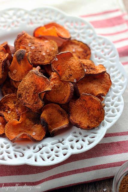 Cinnamon Vegetable Chips