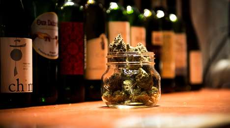 Cannabis Wine Pairings - Cultivating Spirits Dinners Teach People How to Pair Wine and Weed