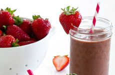 Fruity Chocolate Smoothies - This Decadent Smoothie is Made from Nutritious Ingreidents