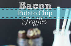 Bacon Potato Chip Truffles - These Unusual Truffle Treats Offer the Most Contrasting Flavors