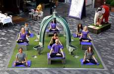 Orchestral Yoga Classes - 'Moga' is a New Yoga Concept That Pairs Practice with a Live Orchestra