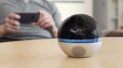 360-Degree Surveillance Cameras - The Branto Orb is a High-Definition Home-Monitoring Device