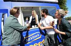 Branded Ice Cream Trucks - United Biscuits Brand McVitie's Hosts a Delicious Mobile Experience