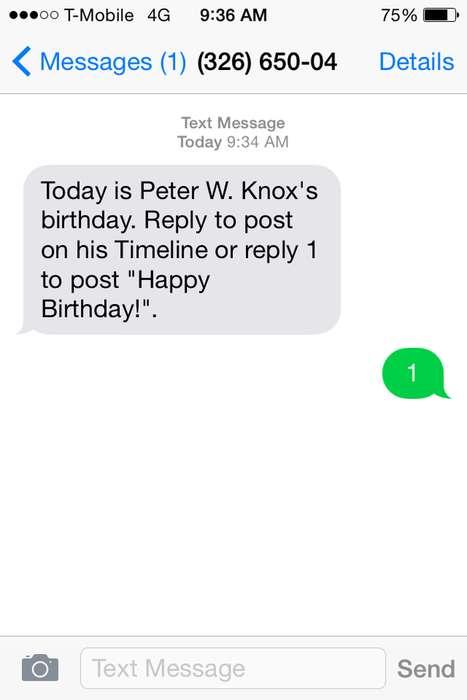 Automated Birthday Greetings