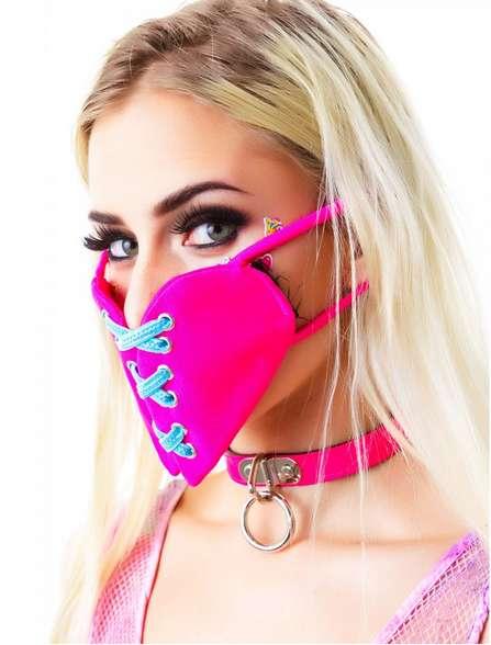 Heart-Shaped Face Masks